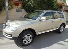 For sale Volkswagen Touareg car in Amman