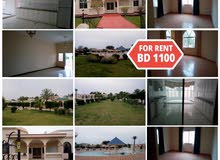 Spacious 4 BR Semi furnished Villa For Rent in Saar in Luxury Compound