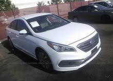White Hyundai Sonata 2016 for sale