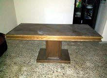 طاولة سفرة خشب