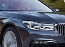 مطلوب سيارة BMW 730 2018 للبدل