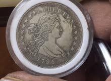 عملة دولار امريكي 1796