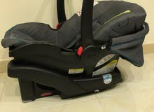 Graco stroller,carseat, and smooth furry blanket and baby slide