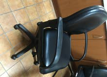 Slightly used office chairs and desk