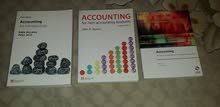 3 كتب محاسبة باللغة الانجليزية Accounting