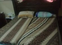 Double bed cart with matress