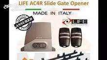 sliding gate moter brand life made in Italy