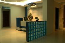 شقة مكتبية  فخمة جدا مطلوب بيع او ايجار الاثاث مع الديكورات