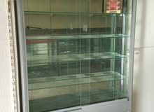 6كونترات عرض زجاجية للبيع ألومنيوم تفصيل ب الاضافه لكاونتر لعرض عطور-ساعات مع اض