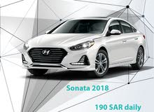 Hyundai Sonata 2018 for rent