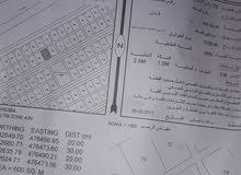 ارض سكنيه فمنطقه العوينات صحار