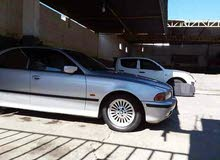 BMW 525 in Tripoli