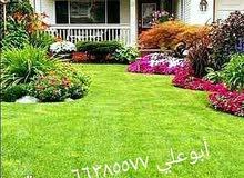 تنسيق حدائق ابو علي 66385577