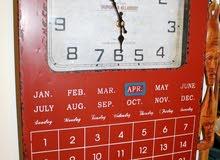 High Quality Metal % Authentic Antique Wall Clock & Calander