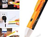 القلم الكهربائي الالكتروني لفحص الكهرباء بالحائط