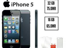 عرض خاص مرة واحدة فقط ايفون 5 اصلي ذاكرة 32 جيجا او 16 جيجا بسعر مغري جدا