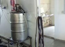 مصنع كاتشب شفرات و جالونات للبيع مجهز كامل و له سوق و شغال 100