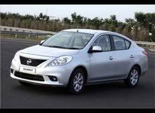 نيسان صني للايجار Nissan sunny 2014
