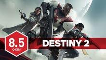 حسم 50/100 على لعبة destiny 2 على الpc بروفيلات غير مستعمللة