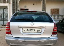 Silver Mercedes Benz C 200 2002 for sale