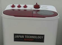 ، غسالة 9كيلو  شارب ، شركة يابانية، *ضمان 10سنوات*