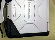 لابتوب Panasonic Toughbook مصفح ، معالج Core i5، ذاكرة 8 جيجا، قرص 500 ، لمس