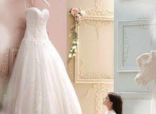 مجموعة فساتين زفاف مستعمل وجديد
