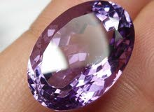 15.90 Carat  Amethyst / 18 X 13 X 10 mm / AAA +++ High Quality  / Oval / Faceted
