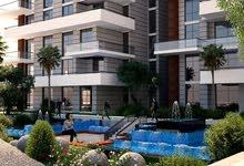 شقة 135م للبيع أمام حي السفارات مباشرة بفيو أكواريم