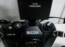 كاميرا ريكو ياباني اصلي موديل قديم تصوير افلام تحميض