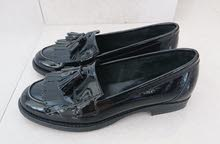 black loafers from suhch