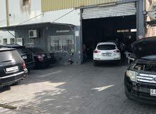 بيع ورشة لصيانة جميع انواع السيارات
