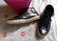 converse shoesجلد أصلي 100/100