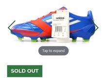 حذاء  adidas adizero f50  موديل 2012 بحالة الوكالة