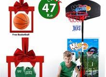 Royal : Basketball Stand Set + Free Gift