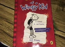 بيع كتب diary of wimpy kid