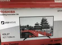 شاشة توشيبا 43 بوصة للبيع