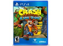 مطلوب سي دي crash bandicoot ps4