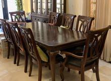 طاولة طعام فاخرة dinning table for sale
