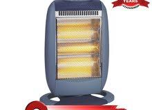 مدفأة هالوجين كهربائية من نيكاي ، 1200 واط ، ازرق ، NEH6250K