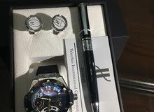 ساعات روليكس جيفنشي مونت بلانك هوبليت رادو طقم كامل  مع كافلينس وقلم الكميه محدوده