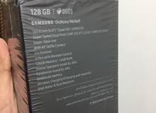 كلكسي نوت 9 جديد ممفتوح ذاكره 128 كيكا لون اسود الاصلي ضمان شركه عين الفهد  السعر 750 دولار