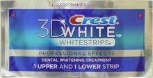 لزقات كريست لتبيض الاسنان