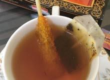 زعفران شاي سكر منتج ايراني شيراز