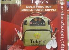 بطارية متنقلة للرحلات  والجلسات الخارجية  Tobys Battery