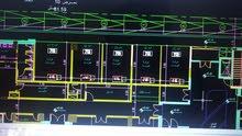 تصميم مكيف هواء أوتوكاد للمنزل والمكتب والمقاهي والمكاتب والمطاعم