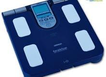 ميزان ديجتل لقياس الوزن ونسبة الدهون في الجسم