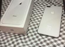للبيع ايفون8بلص مستعمل 8 ايّام 64 جي بي مع كفاله أبل اشرق الاوسط
