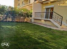شقة ارضي بحديقة للايجار في مدينة الرحاب