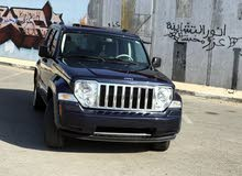 Blue Jeep Liberty 2009 for sale